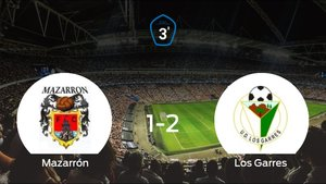 El Los Garres vence 1-2 al Mazarrón FC y se lleva los tres puntos