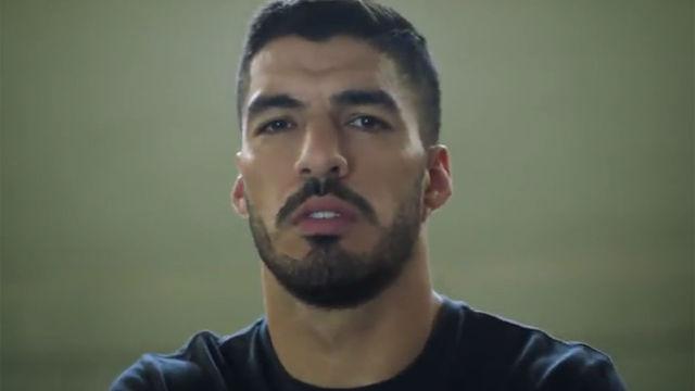 Luis Suárez cuenta su carrera en el último anuncio de Adidas