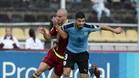 Luis Suárez, en el partido disputado el viernes pasado frente a Venezuela