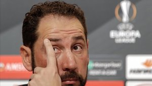 Machín espera un Barça muy competitivo en el Sánchez Pizjuán