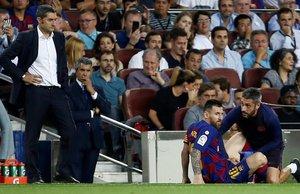 Messi se lesionó y el Barça dejó de jugar hasta que apareció Ansu Fati