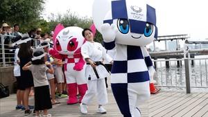 Miraitowa y Someity, las mascotas de los Juegos de 2020