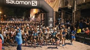 Momento de la salida de la pasada edición del Salomon Ultra Pirineu