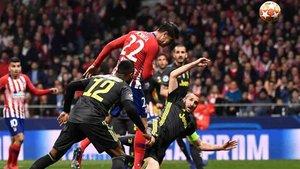 Morata vio como le anulaban un gol