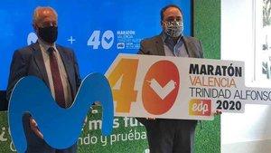Movistar patrocinará la Media y la Maratón de Valencia