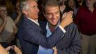 Multitudinario y eufórico son los adjetivos quemejor describen el último acto de campaña deJoan Laporta en la sede de su candidatura electoral