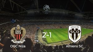 El OGC Niza logra la victoria después de ganar 2-1 al Amiens SC