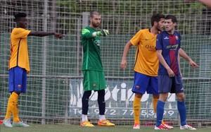 Ortolá recibió el cuarto gol tras subir en un córner