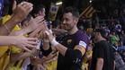 Paco Sedano cumplirá sus 40 años en la portería del Barça Lassa