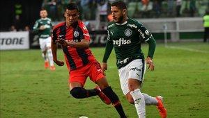 Palmeiras vence a San Lorenzo y se queda con el primer lugar de su grupo