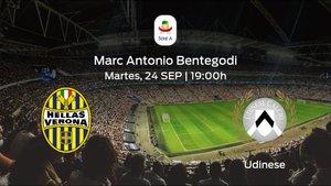 Previa del encuentro de la jornada 5: Hellas Verona contra Udinese