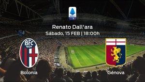 Previa del partido: el Bolonia recibe al Génova