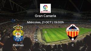 Previa del partido: Las Palmas recibe al Castellón