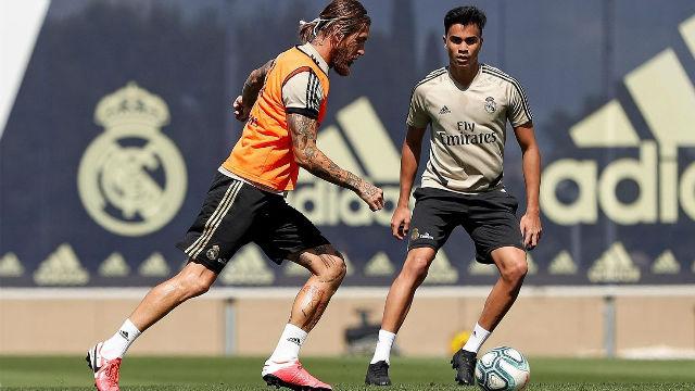 El Real Madrid se entrena antes de recibir al Getafe
