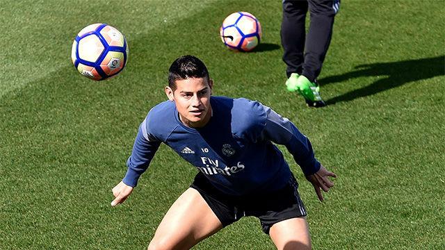 El Real Madrid prepara el próximo partido ante el Sevilla
