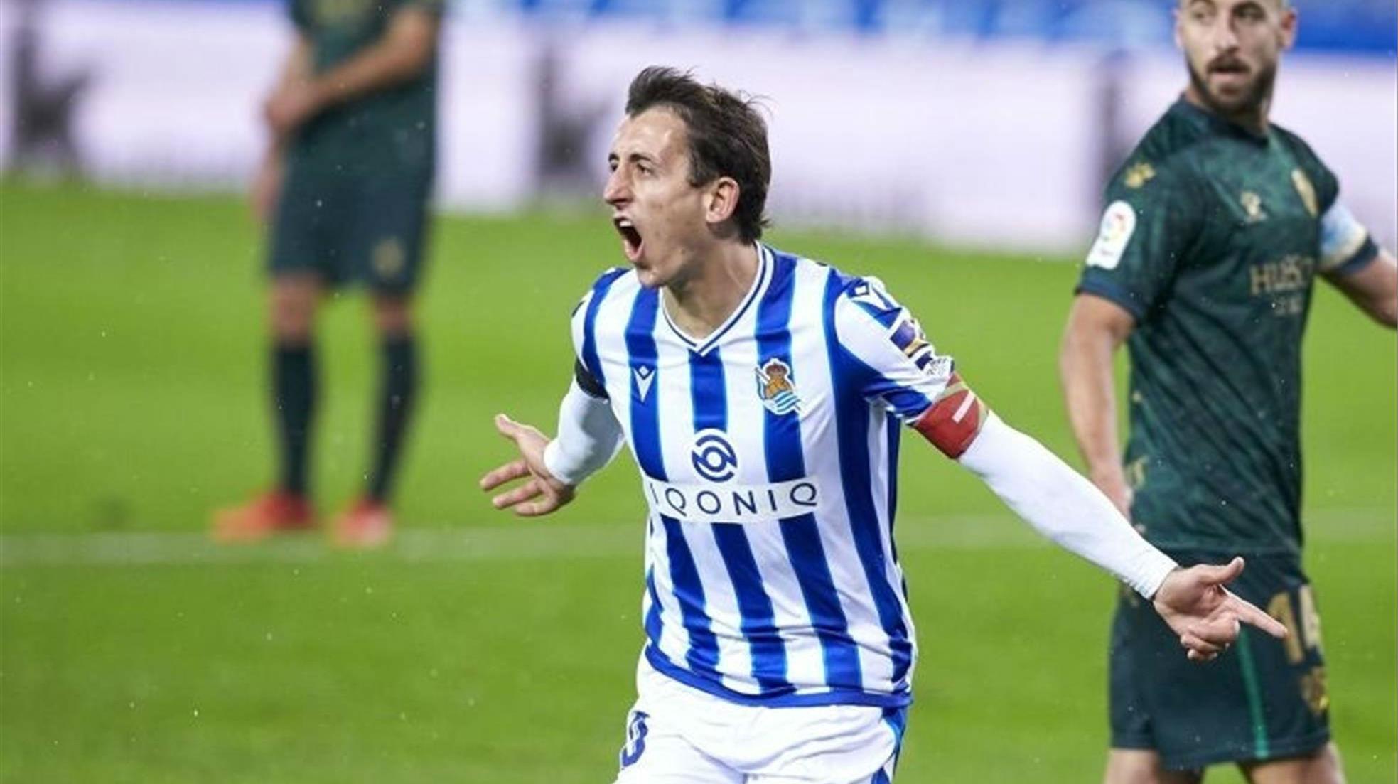 La Real Sociedad se ceba contra el Huesca