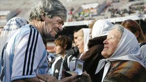 René Houseman fue campeón del mundo con Argentina en 1978