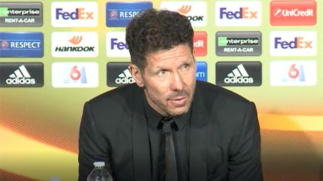 Simeone: Espero que Griezmann se quede en el Atlético