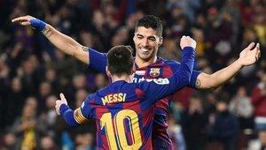 Suárez y Messi se separarán después de seis años