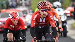 Tom Dumoulin, durante una etapa del pasado Critérium Dauphiné