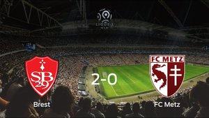 Triunfo 2-0 del Brest frente al FC Metz