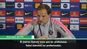 Tuchel: Rabiot tiene que ser profesional, es jugador del PSG