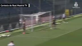 Último entrenamiento del Real Madrid antes del enfrentamiento ante el Athletic Club