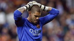 Valdés es un icono del barcelonismo