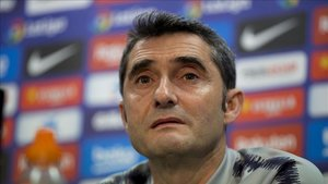 Valverde desmintió cualquier acercamiento de Neymar al Barça