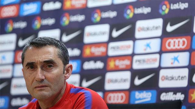 Valverde dio sus impresiones sobre el partido ante el Eibar