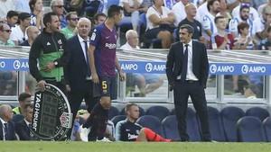Valverde realizó unos cambios que levantaron la polémica