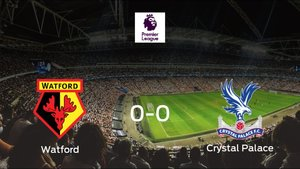 El Watford y el Crystal Palace suman un punto tras empatar a cero