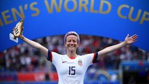 Wilson elogió el trabajo del fútbol femenino estadounidense