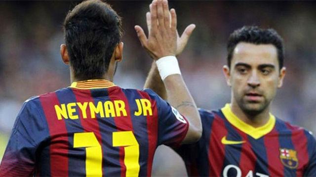 Xavi: Futbolísticamente, Neymar sería un fichaje increíble