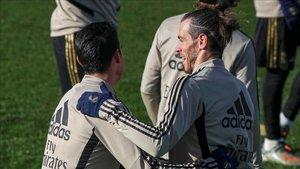 Zidane no cuenta con James ni Bale