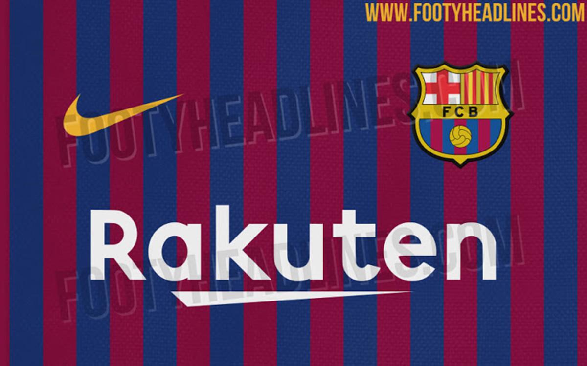 Revealed barcelona 39 s new home shirt for the 2018 19 season - New home barcelona ...