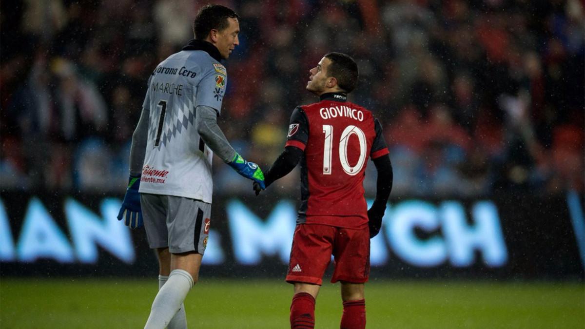 Toronto vence al América mexicano en la CONCACAF
