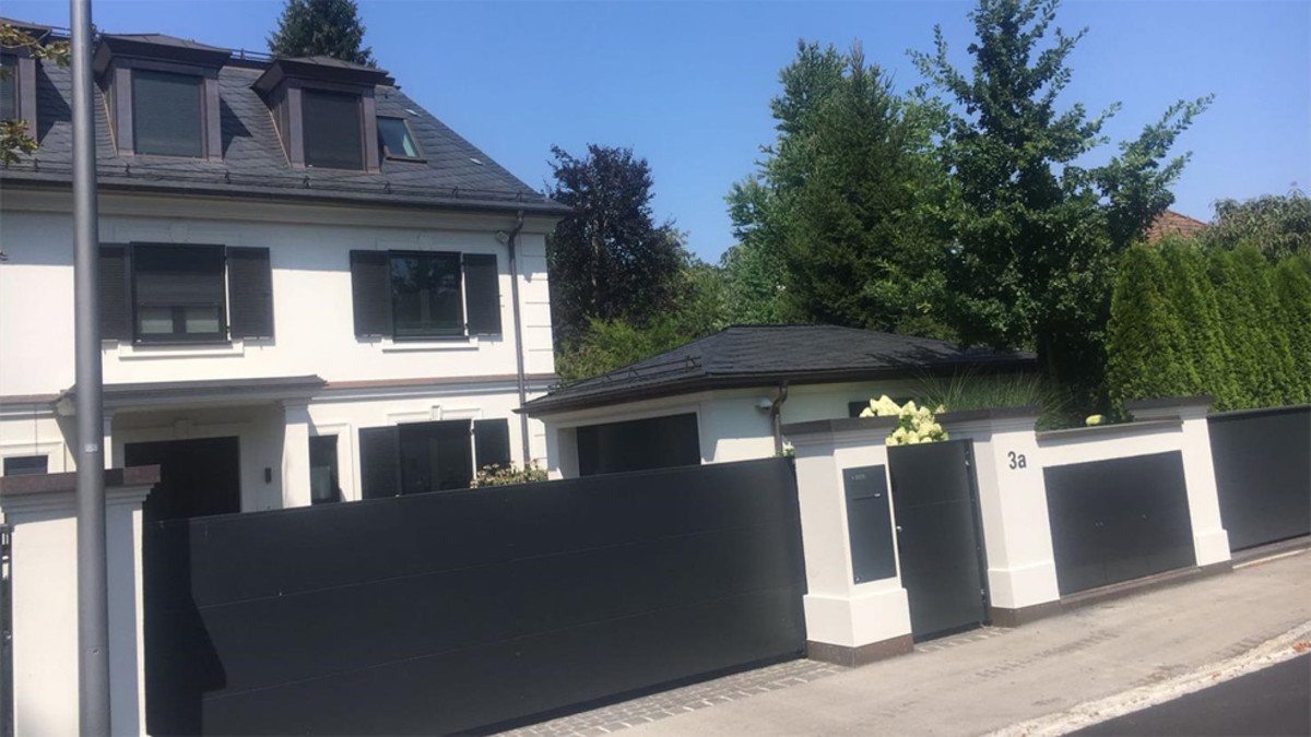 Arturo Vidals Hus i Munich, Germany