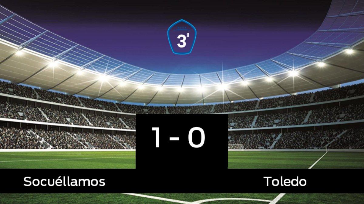 El Socuéllamos se queda los tres puntos ante el Toledo