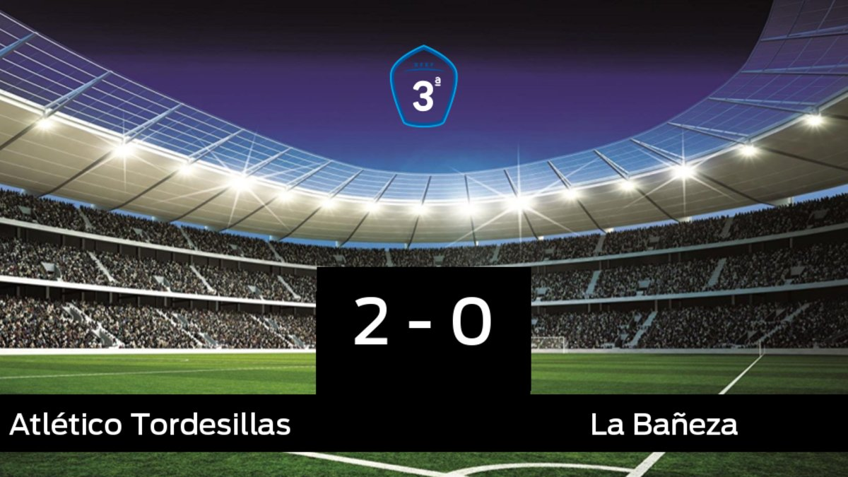 El Atlético Tordesillas gana en el Estadio Municipal Las Salinas a La Bañeza