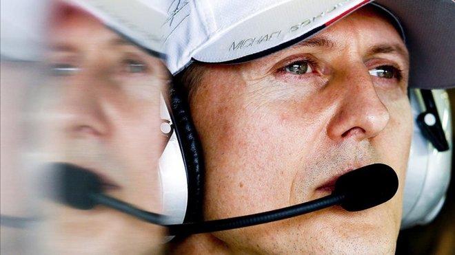"""""""Schumacher se comunica con los ojos, no puede hablar"""""""