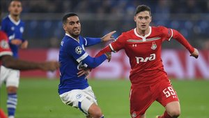 Aleksei Miranchuk, en la pasada Champions frente al Schalke