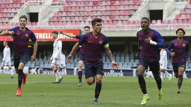 Ansu puso en ventaja al Barça