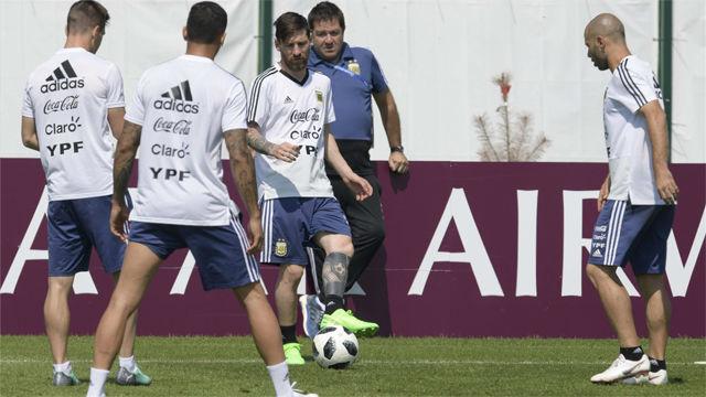 Argentina prepara el vital encuentro ante Nigeria