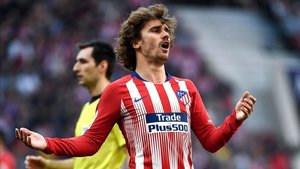 El Atlético puede sancionar a Griezmann