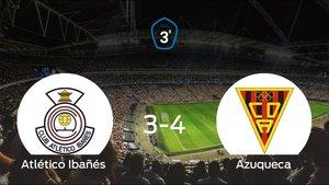 El Azuqueca derrota en el Estádio Municipal de Casas Ibañés al Atlético Ibañés (3-4)