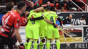 El Barça celebró una nueva victroia europea