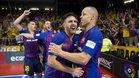 El Barça certificó en el Palau un histórico triplete