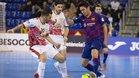 Barça y ElPozo han protagonizado un duelo lleno de alternativas