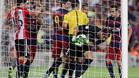 El Barça tuvo esperanzas tras el gol de Messi